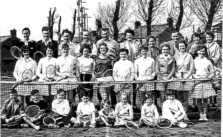 Poulton Tennis Club 1960